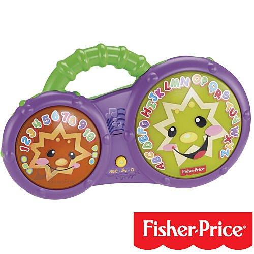 【奇買親子購物網】費雪 Fisher-Price 寶寶音樂洗澡鼓