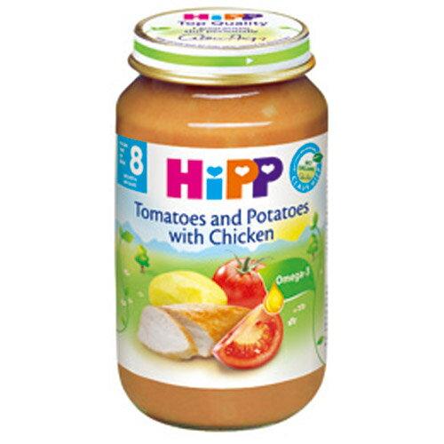 【奇買親子購物網】HiPP喜寶有機寶寶蕃茄雞肉馬鈴薯粒/1入