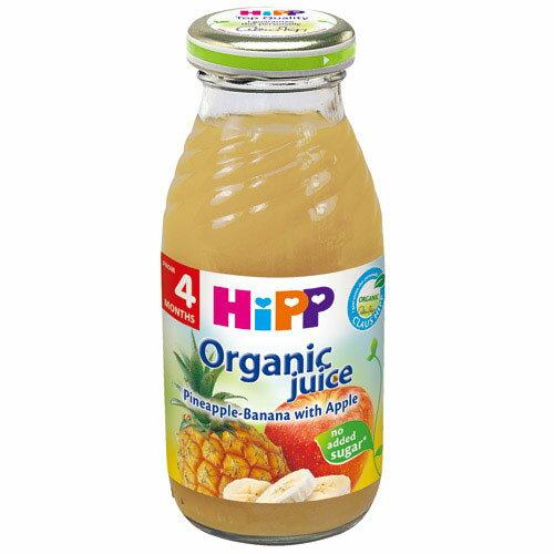 【奇買親子購物網】HiPP喜寶有機綜合蘋果鳳梨汁/1入