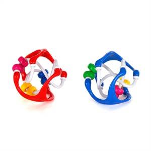 【奇買親子購物網】Oball 魔力洞動球-迷你串珠球/顏色隨機出貨