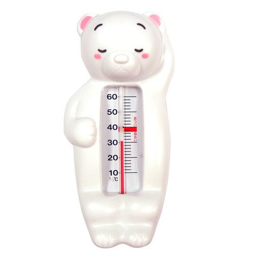 【奇買親子購物網】貝親 PIGEON 水溫計(小熊)