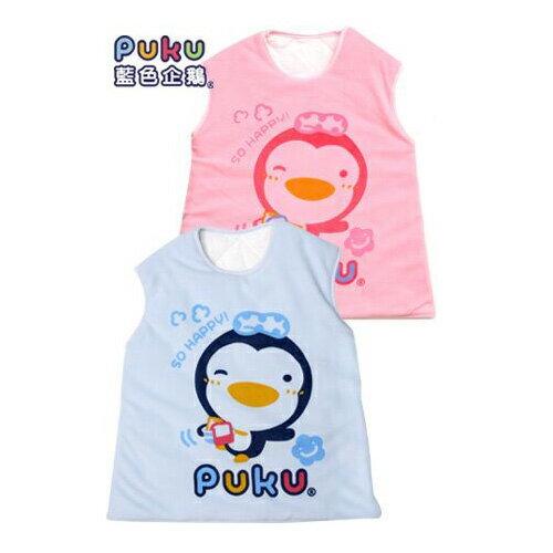 ~奇買親子 網~藍色企鵝 PUKU Petit 暖暖防踢睡袍^(M^)~^(藍色 粉色^)