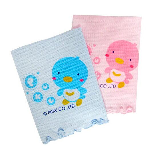 【奇買親子購物網】PUKU 伸縮肚圍-(藍色/粉紅)