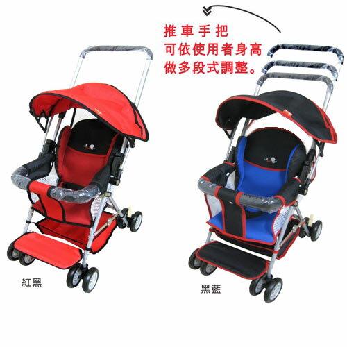 【奇買親子購物網】【朴蜜兒】可拆洗輕巧兩用推車