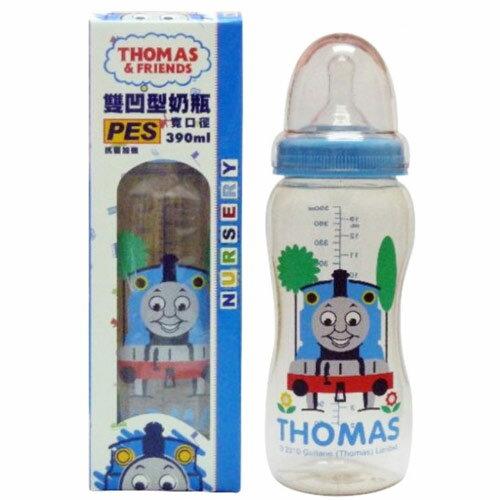 ~奇買親子 網~~湯瑪士~PES寬口雙凹型奶瓶390ml