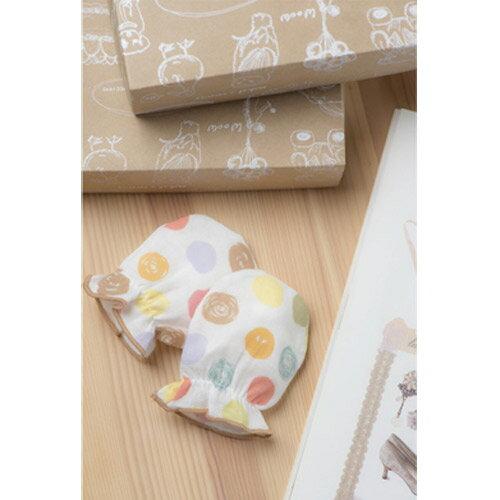 【奇買親子購物網】米諾娃 繽紛紗布手套