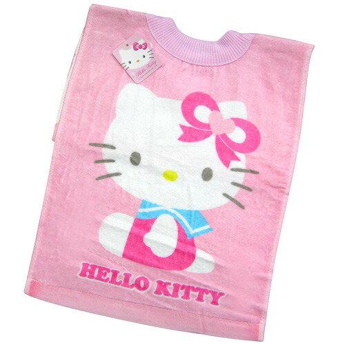 【奇買親子購物網】HelloKitty毛巾圍兜