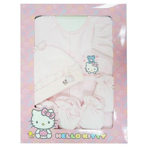 【奇買親子購物網】Hello Kitty 凱蒂貓 直開兩用裝禮盒組KCB907
