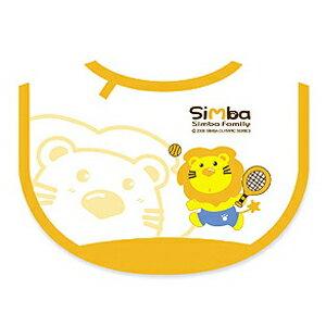 【奇買親子購物網】小獅王辛巴simba小圍兜(網球)-(藍/粉紅/橘色)