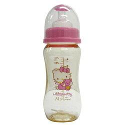 【奇買親子購物網】Hello Kitty PES寬口徑奶瓶(270ML)