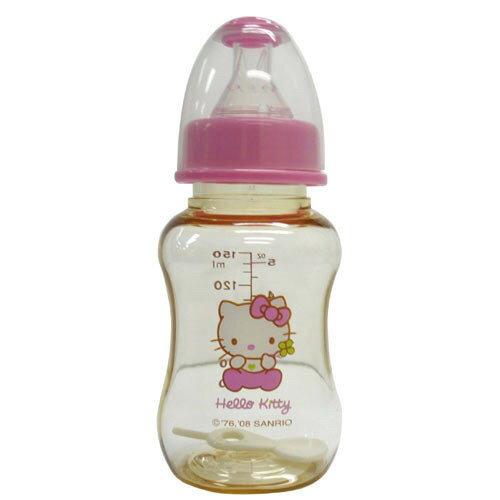 【奇買親子購物網】HelloKittyPES標準口徑奶瓶(150ML)