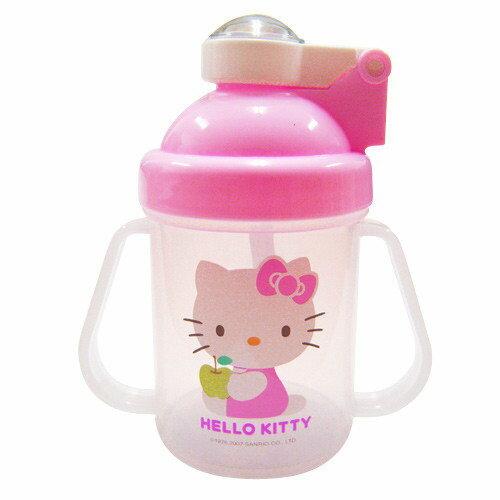 【奇買親子購物網】Hello Kitty 彈跳練習杯