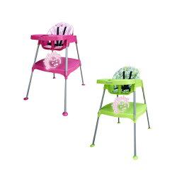 【奇買親子購物網】BabyBabe 多功能兒童餐桌椅-(玫瑰紅/田園綠)