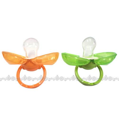 【奇買親子購物網】mini BeBe 小蜜蜂 PP拇指型防塵安撫奶嘴