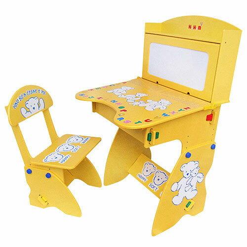 【奇買親子購物網】Kikimmy兒童升降學習桌椅組