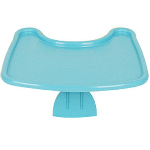 【奇買親子購物網】Jelly Mom幫寶椅餐盤-(藍色/黃色)