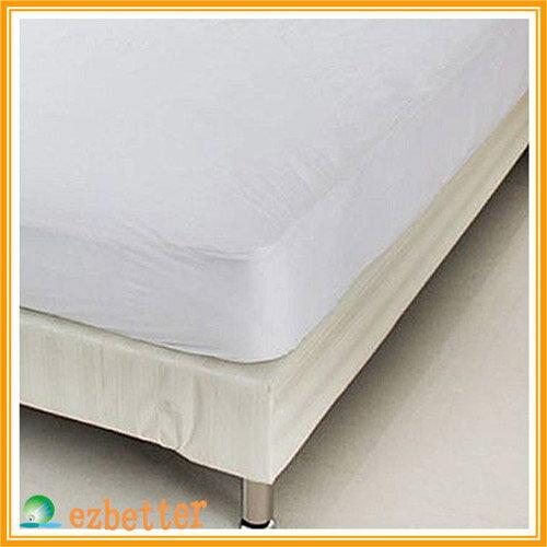 【奇買親子購物網】伊莉貝特防蹣(?)寢具純棉-雙人加大床墊套(加高)183*190*30cm