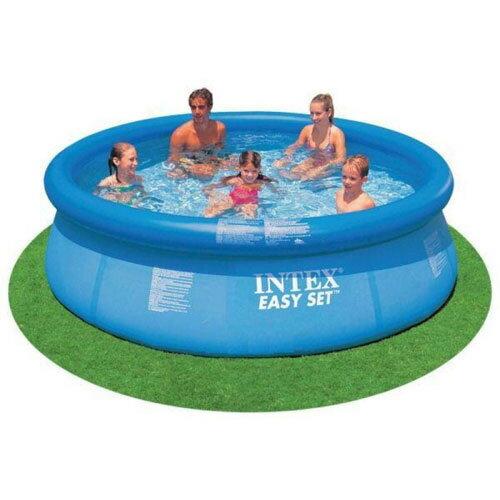 【奇買親子購物網】INTEX疊型充氣家庭超大游泳池(305cm*76cm)