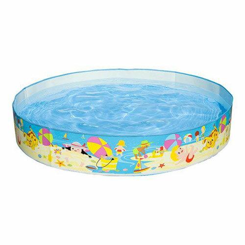 【奇買親子購物網】INTEX沙灘遊戲硬膠泳池(免充氣)(152cm*25cm)