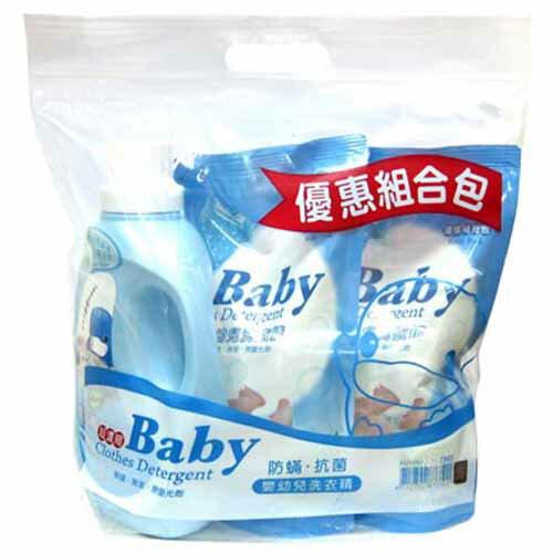 【奇買親子購物網】酷咕鴨KU.KU.嬰兒濃縮洗衣精超值包