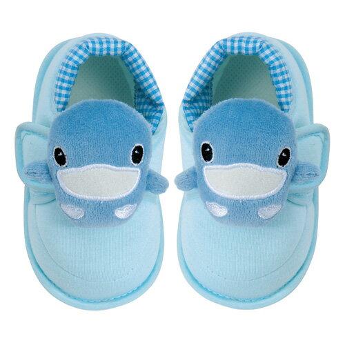 【奇買親子購物網】酷咕鴨KU.KU. 可愛造型學步鞋(藍/粉)