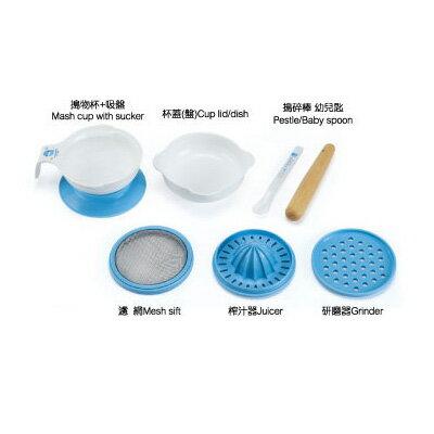 【奇買親子購物網】酷咕鴨KU.KU.副食品料理器八件組