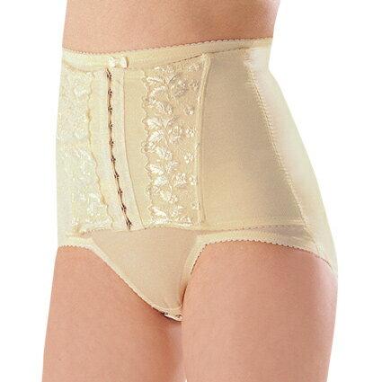 【奇買親子購物網】妮妮 NiNi 中機能蕾絲短筒束腹褲(黃)
