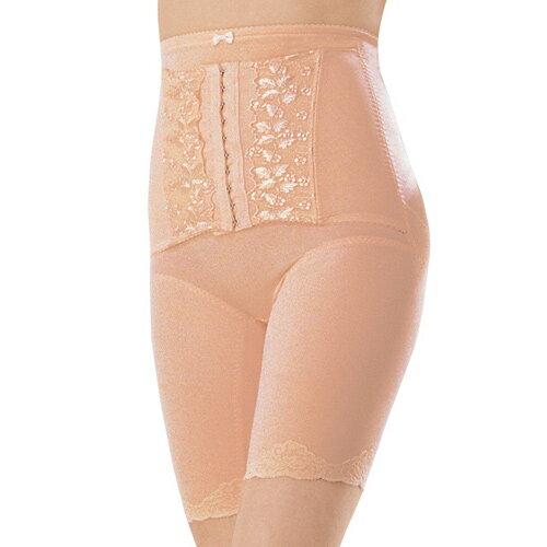 【奇買親子購物網】妮妮 NiNi 中重機能蕾絲長筒束腹褲(柑橘)