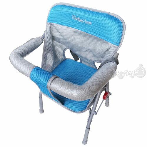 【奇買親子購物網】Mother s Love 可調機車椅(藍/咖啡/紅)