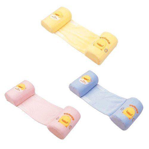 【奇買親子購物網】黃色小鴨 嬰兒安全側睡枕(藍/粉/黃)