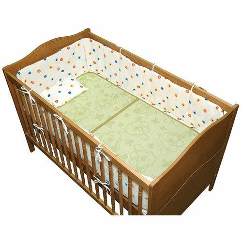 【奇買親子購物網】K's Kids Bamboo Charcoal Crib Mat 竹炭纖維嬰兒床墊