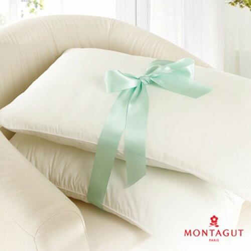 【奇買親子購物網】法國夢特嬌MONTAGUT 抗菌透氣壓縮枕*2個
