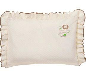 【奇買親子購物網】小獅王辛巴simba有機棉荷葉枕