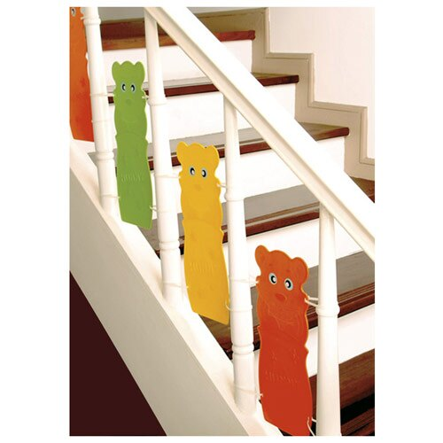 【奇買親子購物網】ST-BABY-樓梯護欄/樓梯安全防護欄(6片)