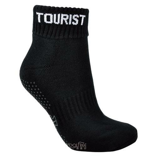 【奇買親子購物網】旅行家koolfree 抗菌排汗導氣毛圈止滑瑜珈襪