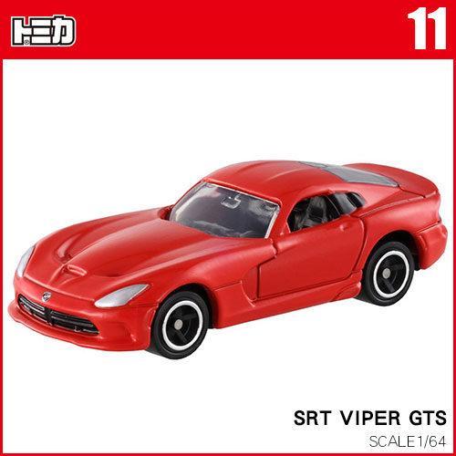【奇買親子購物網】(11)TOMICA多美小汽車 SRT VIPER GTS