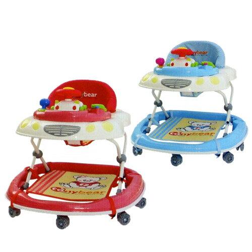 【奇買親子購物網】湯尼熊 Tony Bear 日式音樂學步車-(紅色/藍色)