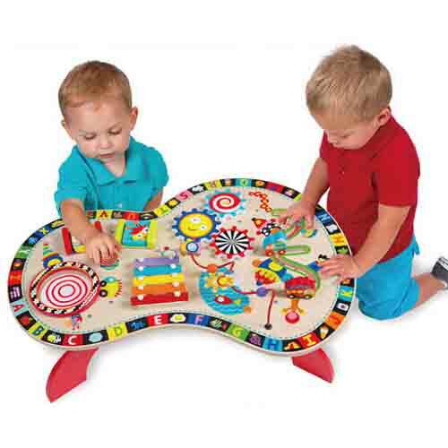 【奇買親子購物網】美國ALEX聰明寶寶遊戲桌