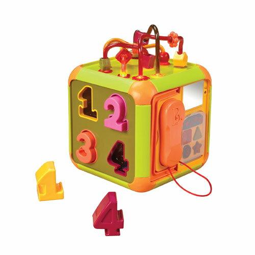 【奇買親子購物網】美國B.Toys 時間方塊
