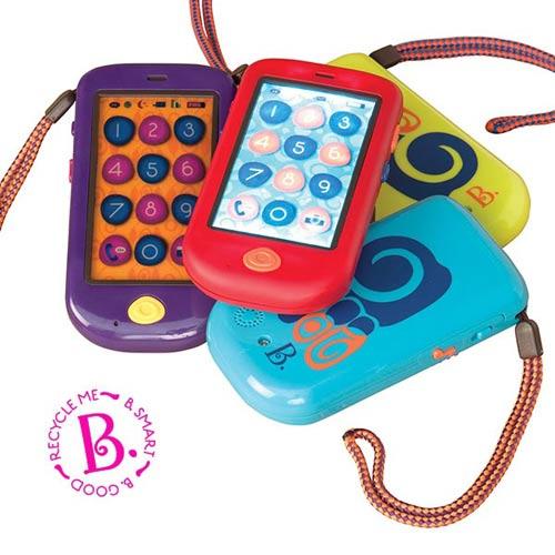 【奇買親子購物網】美國B.Toys 嗨Phone