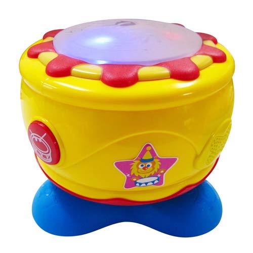 【奇買親子購物網】Baby Music 歡樂旋轉音樂拍拍鼓/電子鼓《旋轉時音樂會自動播放》