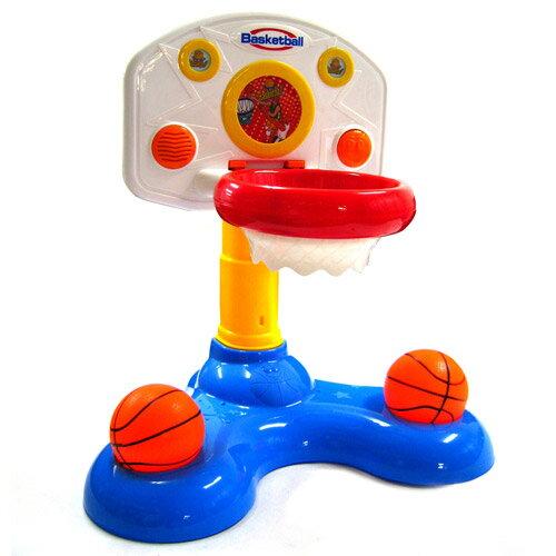 【奇買親子購物網】BabyMusic趣味聲光籃球架