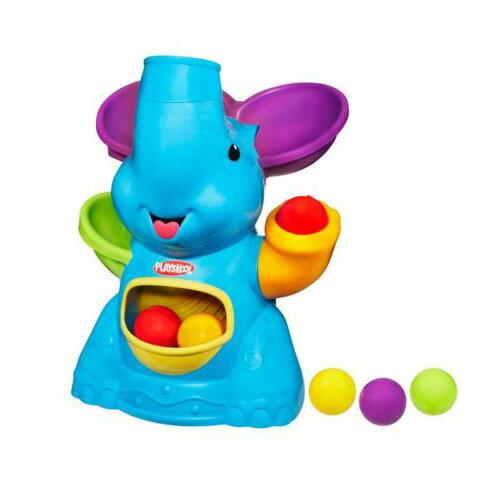 【奇買親子購物網】PLAYSKOOL兒樂寶-大耳象彈跳玩球遊戲組