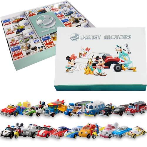 【奇買親子購物網】TOMICA迪士尼 迪士尼小汽車禮盒(10台/組)(隨機出貨)