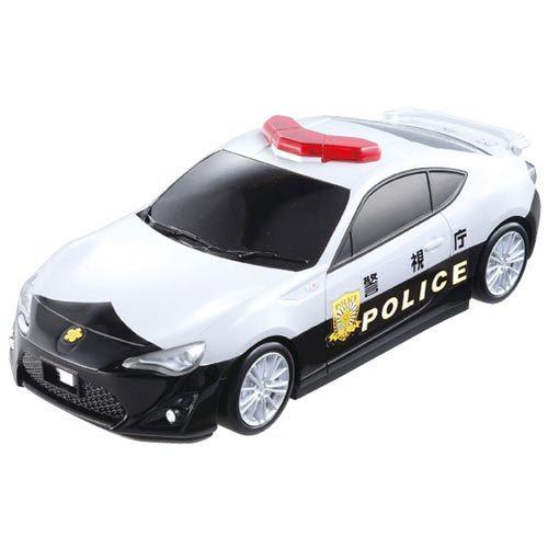 【奇買親子購物網】【TAKARATOMY】TOMICA警車收納盒