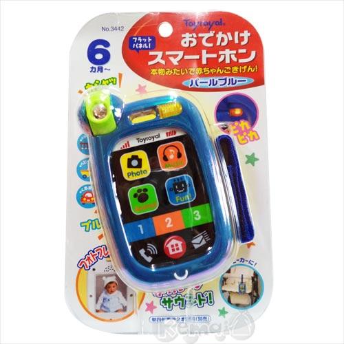 【奇買親子購物網】樂雅Toy Royal 觸控式玩具電話(玩具 iphone)