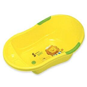 【奇買親子購物網】小獅王辛巴simba嬰兒防滑浴盆-黃色