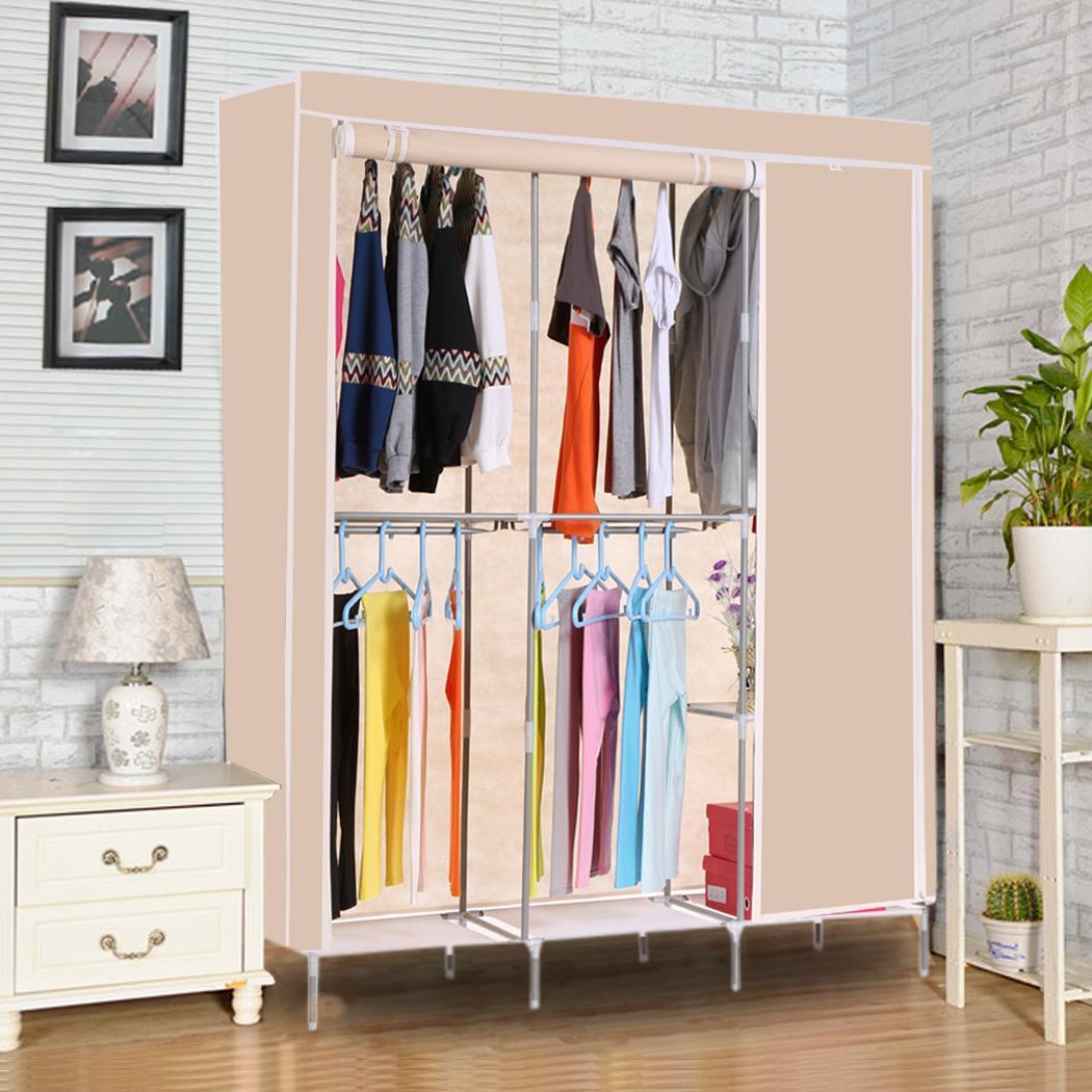 Non-Woven Folding Practical Closet Wardrobe 5