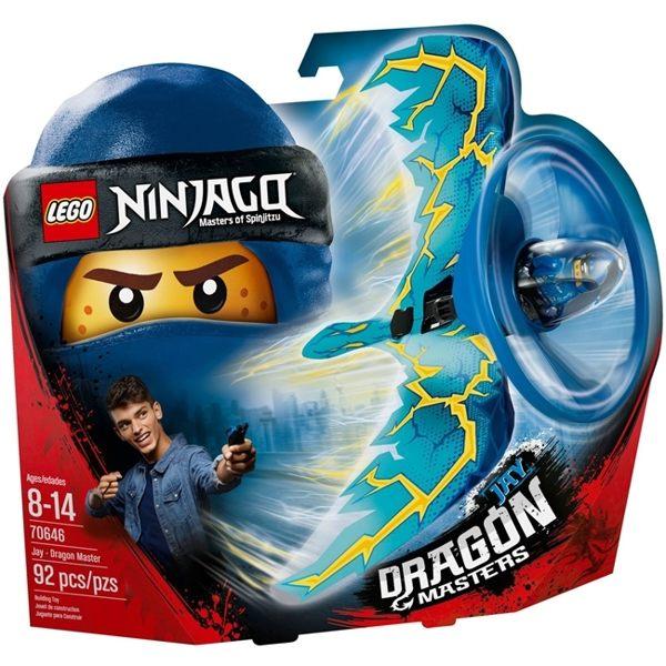 【LEGO樂高積木】Ninjago忍者系列-阿光閃電飛龍大師LT-70646