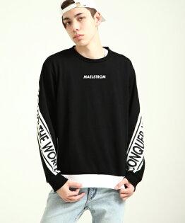 長袖運動衫BLACK